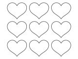 Small Heart Template to Print Small Heart Template Templates Data