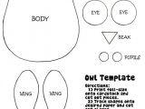 Small Owl Template 25 Best Ideas About Felt Owl Pattern On Pinterest Felt