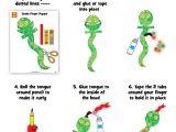 Snake Puppet Template Snake Finger Puppet Craft Alexbrands Com