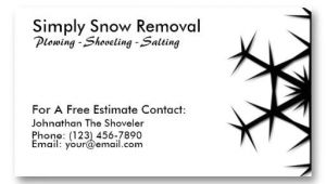 Snow Plowing Business Card Template 1000 Images About Snow Removal Business Cards On