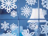 Snowflake Template Martha Stewart Christmas Crafts Projects How to Instructions