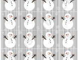 Snowman Paper Chain Template Snowman Christmas Paper Chain Template Printable Pdf Download