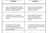 Sobriety Contract Template sobriety Contract form 1784 T30c Manual Pdf