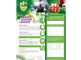 Soccer Team Brochure Template soccer Club Flyer Template Dlayouts Graphic Design Blog