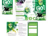 Soccer Team Brochure Template soccer Club Tri Fold Brochure Template