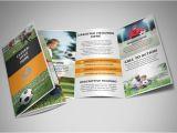 Soccer Team Brochure Template Weekend soccer Camp Brochure Template Mycreativeshop