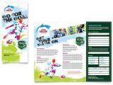 Soccer Team Brochure Template Youth soccer Tri Fold Brochure Template Design