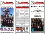 Soccer Team College Recruiting Brochure Template Banshee S 14u Black Schedule and at A Glance 2017 Roster