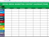 Social Media Calendar Template 2017 Hoofdstuk 8 Voorbeelden Van Contentkalender Hcs