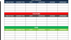 Social Media Editorial Calendar Template Excel social Media Calender Template Excel 2014 Editorial