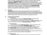 Social Media Guidelines Template social Media Policy Template 8 Free Word Pdf Document