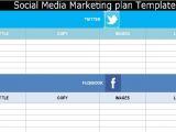 Social Media Marketing Proposal Template Free social Media Marketing Plan Template Free Exceltemple