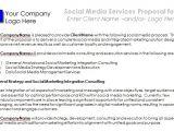 Social Media Marketing Proposal Template Free social Media Proposal Best Templates to Win Clients