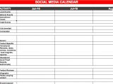 Social Media Planning Calendar Template social Media Plan Templates Make Money Online with