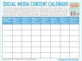 Social Media Posting Calendar Template social Media Templates Keith A Quesenberry