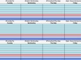 Social Media Publishing Calendar Template social Media Calendar Template Cyberuse