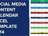 Social Media Publishing Calendar Template social Media Editorial Calendar Excel Template Calendar