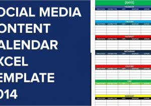 Social Media Publishing Calendar Template social Media Editorial Calendar Excel Template Calendar