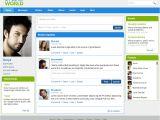 Social Networking Sites Templates PHP Websites by Bhanu Shankar at Coroflot Com