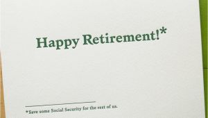 Social Security Blank Card Image Happy Retirement Card