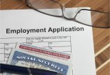 Social Security Card Name Change Application Listing social Security Numbers On Job Applications