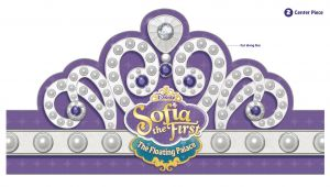 Sofia the First Crown Template Floating Palace Tiara Disney Junior sofia the First