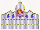 Sofia the First Crown Template Princess sofia Free Printable Crown or Tiara Oh My