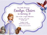Sofia the First Free Invitation Templates 8 Best Images Of Free Printable Princess sofia Invitations