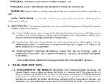 Software Development Contract Template Free 49 Contract Agreement formats Word Pdf