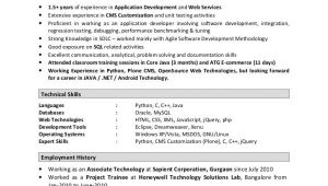 Software Engineer Resume 2 Years Experience Sample Resume software Engineer 2 Years Experience 3