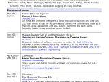 Software Engineer Resume Guidelines software Engineer Resume Example 10 Free Word Pdf
