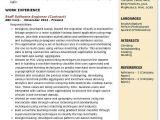 Software Engineer Resume Headline Staff software Engineer Resume Samples Qwikresume