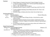 Software Engineer Resume Objective Entry Level software Engineer Objectives Resume