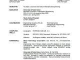 Software Engineer Resume Verbs Mechanical Engineering Resume software Engineering