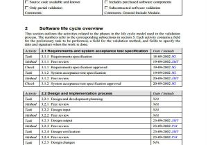 Software Validation Protocol Template 10 Validation Report Templates Free Sample Example