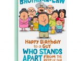Son In Law Birthday Card Birthday Cards for Brother In Law Card Design Template