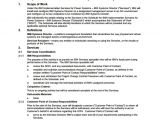 Sow Contract Template Sample Statement Of Work Template 13 Free Documents