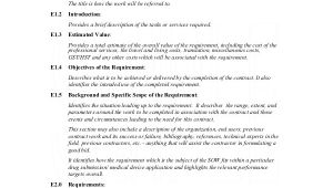 Sow Contract Template Statement Of Work Template 13 Free Pdf Word Excel