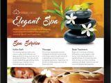 Spa Flyer Templates Free Download Free Elegant Spa Flyer Psd Template Facebook Cover Download