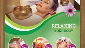 Spa Flyer Templates Free Download Free Spa Flyer Psd Template for Download On Behance