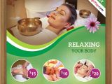 Spa Flyers Templates Free Free Spa Flyer Psd Template for Download On Behance
