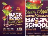 Specials Flyer Template Back to School Drink Special Flyer Template Flyerheroes
