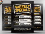 Specials Flyer Template Free Psd Club events or Bottle Service Specials