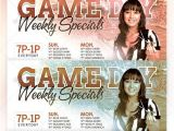 Specials Flyer Template Game Day Specials Flyer Template by Godserv On Deviantart