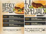 Specials Flyer Template Weekly Specials Flyer Template V2 Flyerheroes