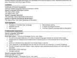 Speech Language Pathology Graduate Student Resume Best Speech Language Pathologist Resume Example Livecareer