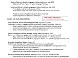 Speech Language Pathology Graduate Student Resume Pin by Ririn Nazza On Free Resume Sample Student Resume