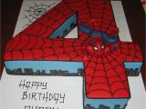 Spiderman Template for Cake Let them Eat Cake No 4 Spiderman Cake