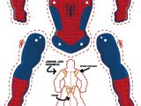 Spoderman Template Spider Man Goes Jumping Jack M Gulin