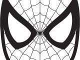 Spoderman Template Spiderman Face Logo Spiderman Mask Clipart 23425wall Jpg